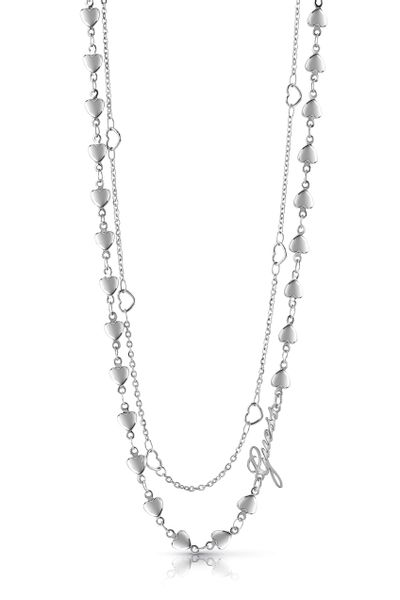 COLLAR-GUESS-DAMA-SHINE-ON-ME-PLATA-GUESS