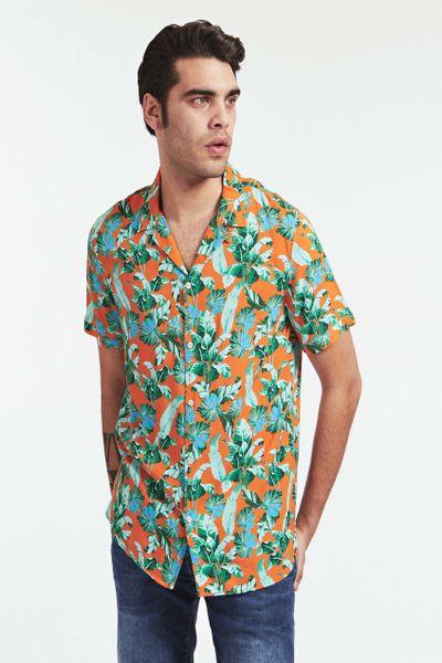 Camisa-manga-corta-para-caballero-GUESS