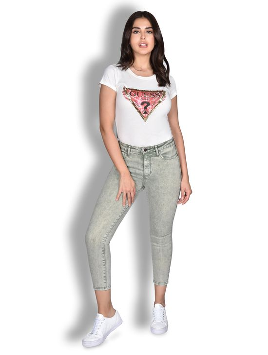 Jeans De Mezclilla Para Dama Jeans Guess