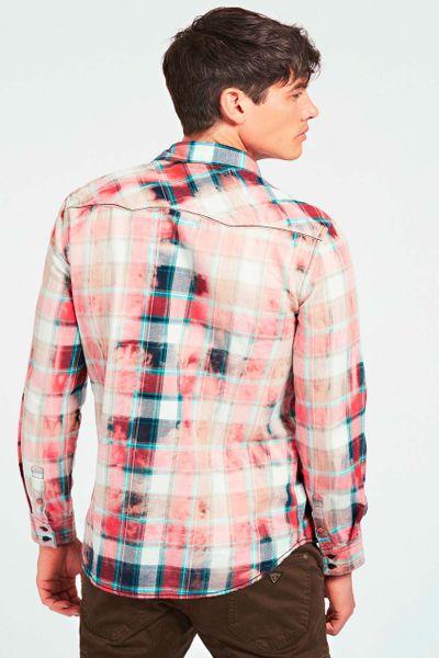 Camisa-cuadros-manga-larga-GUESS