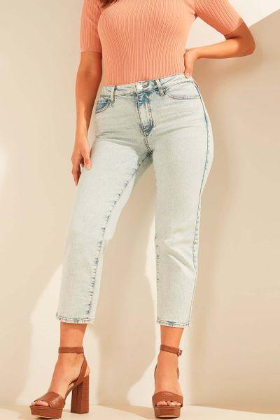Straight-jeans-efecto-deslavado-Guess
