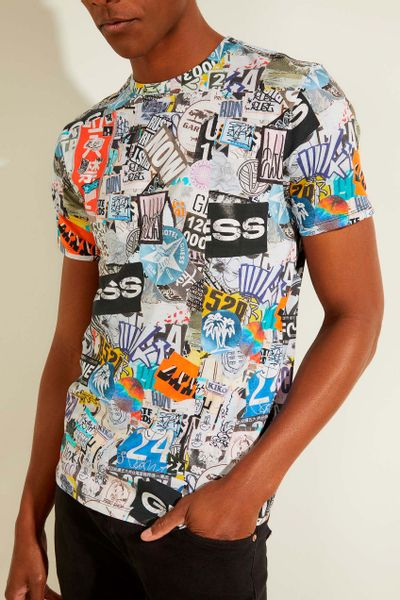 Playera-con-estampado-GUESS