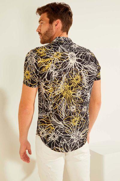 Camisa-manga-corta-con-estampado-GUESS