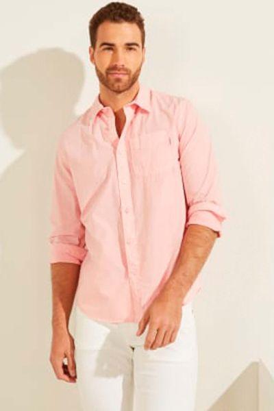 Camisa-manga-larga-para-caballero.-GUESS