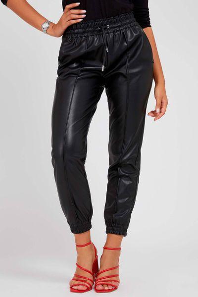 Pantalon-efecto-piel-GUESS
