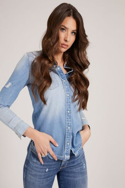 Blusa-Western-GUESS